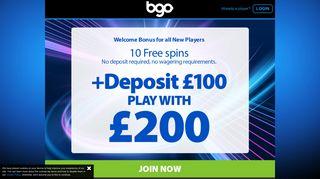 Best Online Casino UK   Play Online Casino Games at bgo Casino