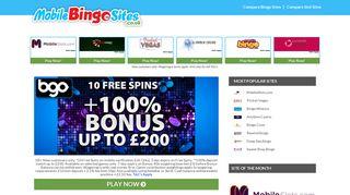 bgo Mobile Bingo - Very Best Bingo Site 2018 - Mobile Bingo Sites