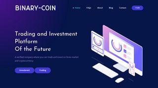 Binary Coin