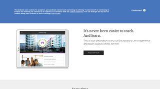 Blackboard CourseSites