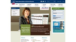 BoardBook | Paperless Board Meeting Software - TASB
