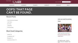 Online Services - University of Arkansas at Little Rock
