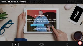 BRILLIANT TV BY GRAHAM COOKE