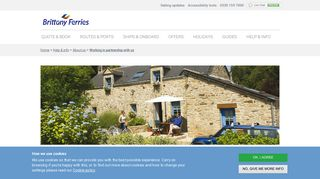 Holiday home to let in France or Spain? - Brittany Ferries