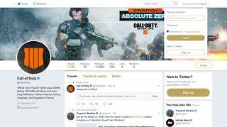 Call of Duty (@CallofDuty)   Twitter