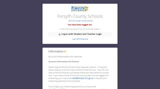 Forsyth County Schools - itslearning