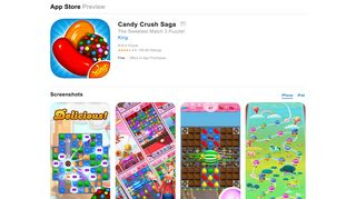 Candy Crush Saga on the App Store - iTunes - Apple