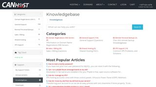 How to login to cPanel - Knowledgebase - Canhost Inc. / I-Guru