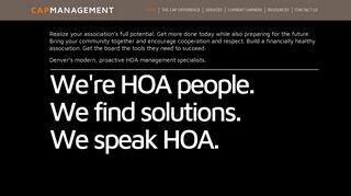 CAP Management: HOA Management | Meeting Denver's HOA Needs