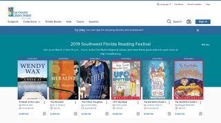 Lee County Library System - OverDrive