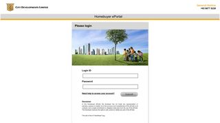 Welcome to City Developments Limited Homebuyer ePortal