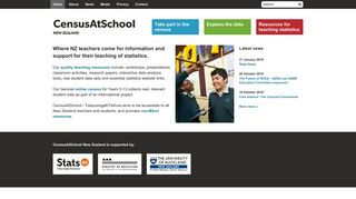 CensusAtSchool New Zealand - TataurangaKiTeKura Aotearoa