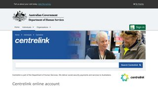 Centrelink - Australian Government Department of Human Services