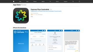 Express Plus Centrelink on the App Store - iTunes - Apple
