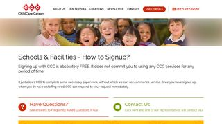 Child Care, Day Care Staffing, Teacher Staffing ... - ChildCare Careers