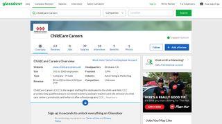 Working at ChildCare Careers | Glassdoor