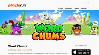 Word Chums — PeopleFun