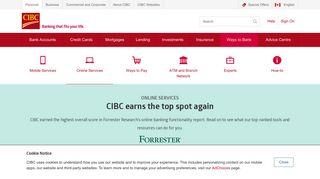 CIBC Online Banking - CIBC.com