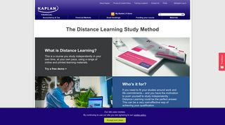 CIMA Distance Learning   Kaplan Financial