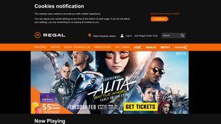 Regal Cinemas, UA & Edwards Theatres: Movie Tickets & Showtimes ...