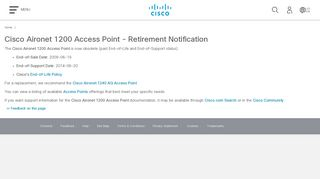 Cisco IOS Software Configuration Guide for Cisco Aironet Access ...