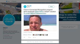 Cisco on Twitter: