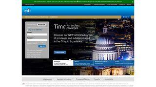 CITI IPB - Citi Online