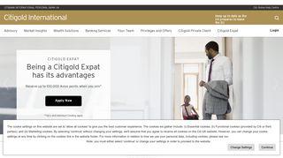 Citi UK IPB: Citi International Personal Banking