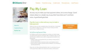 Pay My Loan: Easily Make Loan Payments On Time | Citizens One