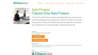 Auto Loans: Apply for a Car Loan | Citizens One
