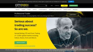 Online Trading   Forex, Spread Betting & CFD Trading   City Index UK