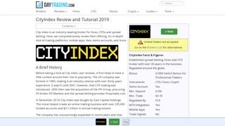 City Index - Must Read Review including demo, mobile app and login ...