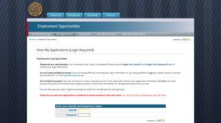 View My Applications - Logon - City of Milwaukee - Jobaps