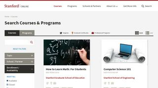 Courses   Stanford Online