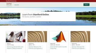   Stanford Lagunita