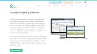 Employee Rostering Software   WFS Australia