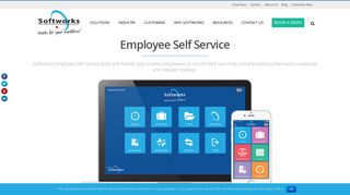 Employee Self Service and App   ESS   Self Service - Softworks
