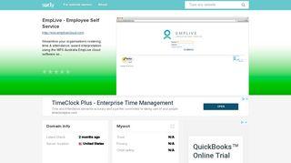 ess.emplivecloud.com - EmpLive - Employee Self Servic... - Ess Emp ...