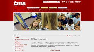 Career Opportunities - Charlotte-Mecklenburg Schools