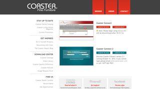 Coaster Company of America   Login to Coaster Connect