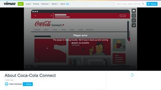 About Coca-Cola Connect on Vimeo