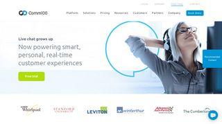Comm100: Multi-channel Digital Engagement Platform   Live Chat ...