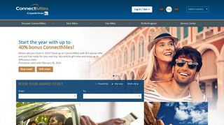ConnectMiles - The frequent flyer program of Copa Airlines