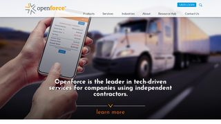 Openforce: Independent Contractor Software & Management Services