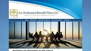 Co-Ordinated Benefit Plans LLC