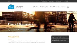 Co-ordinated Benefits Plans, LLC - iNext insurance
