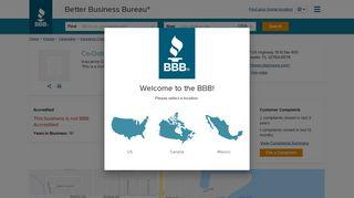 Co-Ordinated Benefit Plans, LLC   Better Business Bureau® Profile
