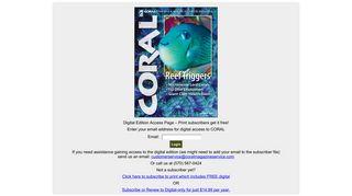 Coral Magazine - Digital Edition - Reef2Rainforest