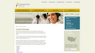 Coventry Health Care: Coventry Providers