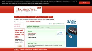Coventry Homefinder in Coventry (West Midlands). - Housing Care